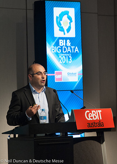 Beratungsthema Big Data. CC-Foto von CeBIT Australia. https://creativecommons.org/licenses/by/2.0/