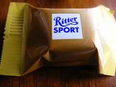 Kein Etikettenschwindel. Ritter Sport gewinnt gegen Stiftung Warentest. CC-Foto von Last Hero. https://creativecommons.org/licenses/by-sa/2.0/