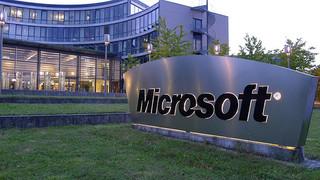 Microsoft Deutschland-Zentrale in Unterschleißheim. CC-Foto von teezeh. https://creativecommons.org/licenses/by-sa/2.0/