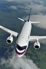 Superjet 100. CC-Foto von SuperJet International. https://creativecommons.org/licenses/by-sa/2.0/